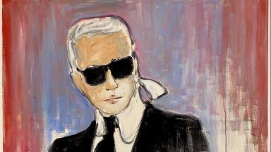 """#Troyes : un autoportrait de Karl #Lagerfeld vendu aux #enchères 17.980€, """"un record du monde"""" @ivoire_troyes @interencheres #Aube #art  https://t.co/qQWj6RY8xn https://t.co/DBcaO0Rub2"""