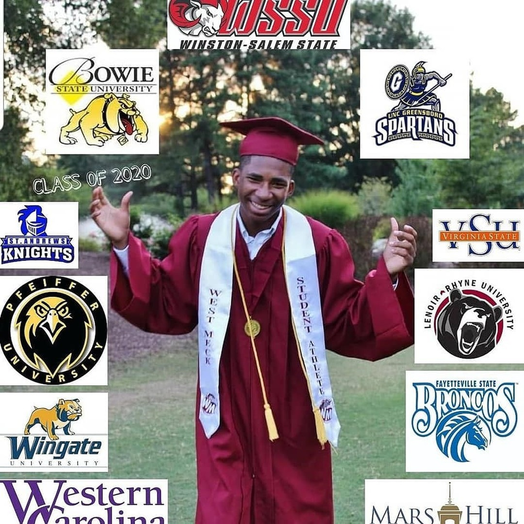 """📷 by @cischarlotte: Accepted to 18 colleges!! But Jamille Earl has made his choice ... WSSU1892! Jamille is an excellent student-athlete (basketball) at West Mecklenburg High School. His CIS #TRiO  Counselor said: """"I love this kid and his heart for the community."""" https://t.co/qjCL0AFIfc"""