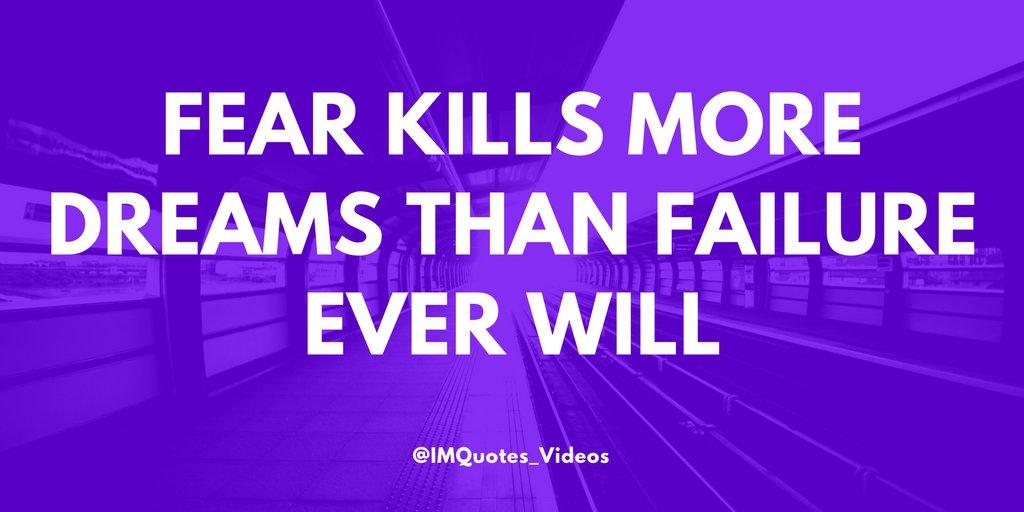 Don't let fear hold you back.  #FridayMotivationpic.twitter.com/5HQaINufkA