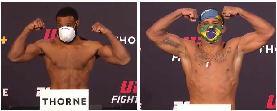 Tyron Woodley (170.5) vs. Gilbert Burns (170.5) #UFConESPN9 #UFC https://t.co/DR4HxtM3mp