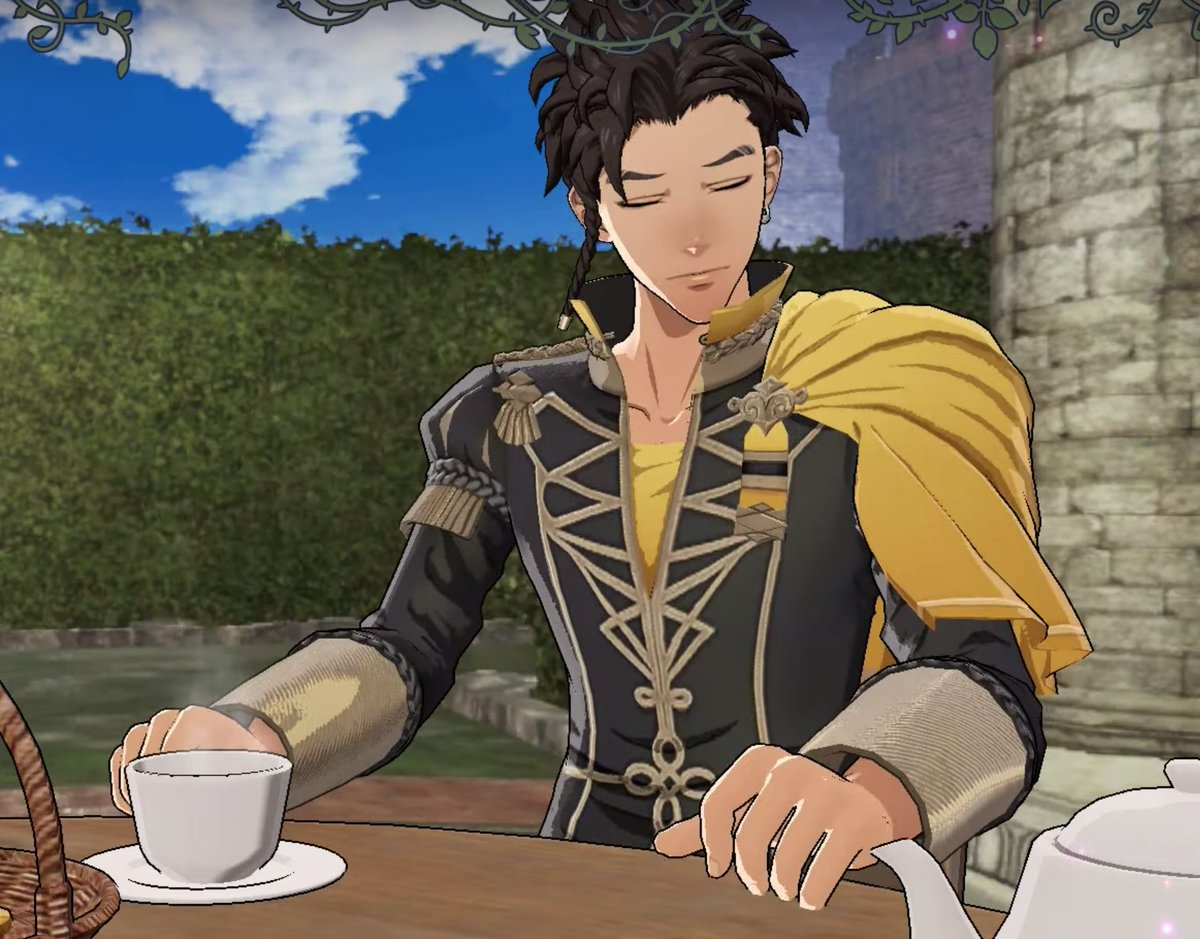 Claude doesn't want the tea <br>http://pic.twitter.com/r63QYmhonK