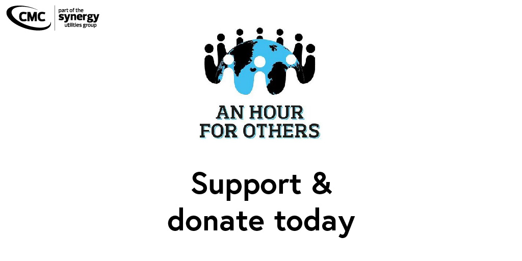 A big thank you to @anhourforothers for keeping up their great work throughout the weeks despite the 'bad weather'!  Donate to them today! #telecommunications #telephones #cellular #datasim #energy #renewable #power #electricity #cmcsynergy #liverpool https://t.co/GoCysQDqco