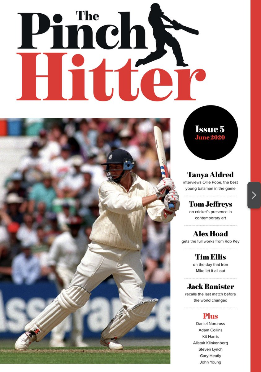 Calling the Shots lives inside the brilliant Pinch Hitter mag. The new edition is out now, all on a pay-what-can-afford basis. So, if you like the show and want to help, please consider throwing a few bob in the tin. Some cricket outstanding writing here: thenightwatchman.net/pinch-hitter/i…