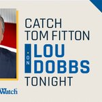 Image for the Tweet beginning: Judicial Watch President @TomFitton will