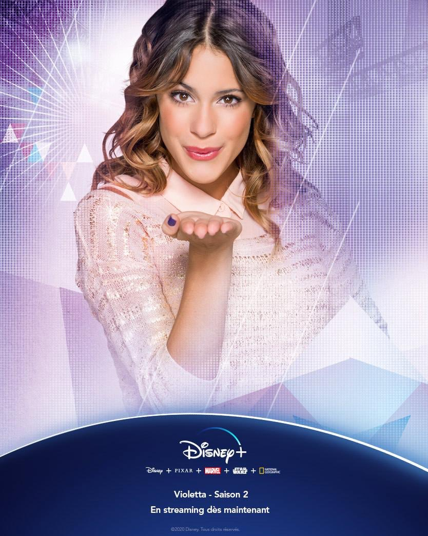 Season 2 of #Violetta is NOW available on @disneyplus!<br>http://pic.twitter.com/Brti8X24h8