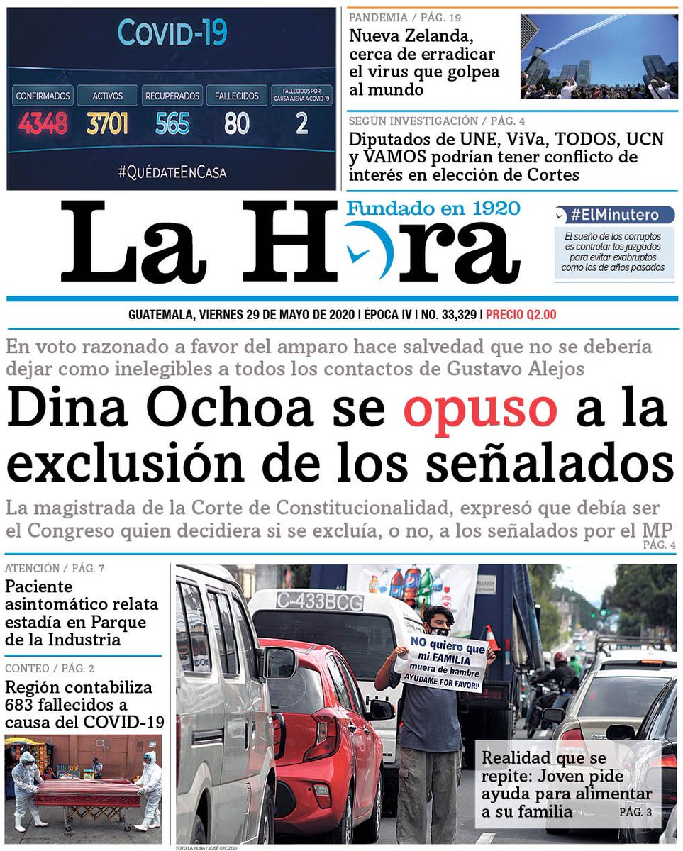 test Twitter Media - #PORTADADEHOY Dina Ochoa se opuso a la exclusión de los señalados https://t.co/zGcZdMS40K