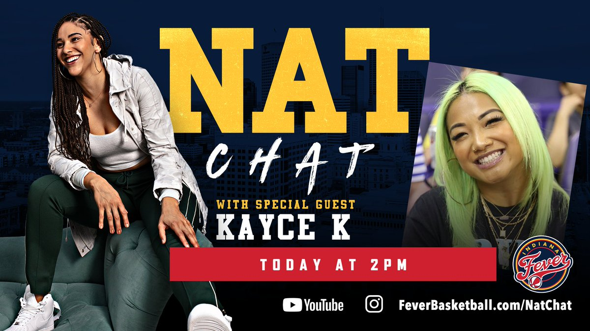 30 minutes!  Join us on YouTube for the third episode of @NatAchon's #NatChat featuring @infamousKAYCE ✨  📺: https://t.co/1oiEb4SogS https://t.co/25lJLjM5fr