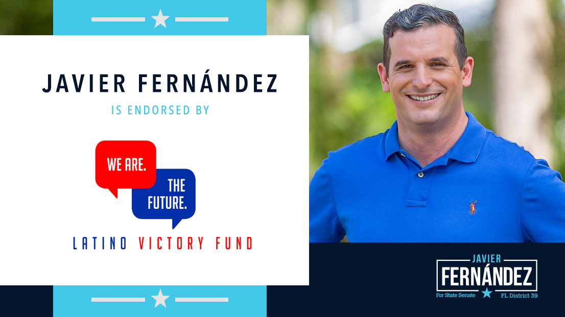 I'm proud to announce that @latinovictoryus has endorsed our campaign!