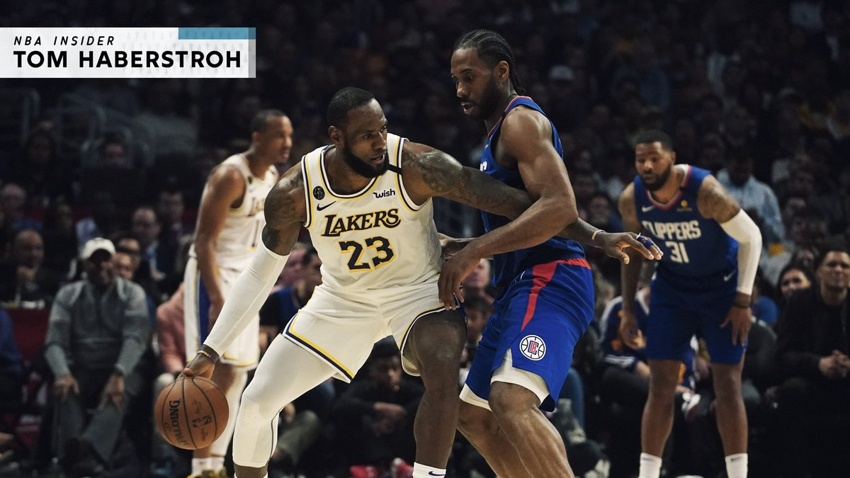What's one way to help replenish home-court advantage in a fan-less NBA playoff tournament?  Let the higher-seeded teams choose their opponents (via @tomhaberstroh) https://t.co/78Tesn4fIH https://t.co/O86Its7Axm