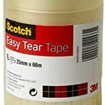 Image for the Tweet beginning: Scotch Easy Tear Tape 25