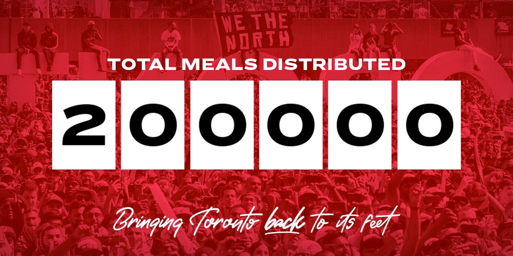 Another week, another milestone 🍽️👏 #BringTorontoBack @TangerineBank   #WeTheNorth