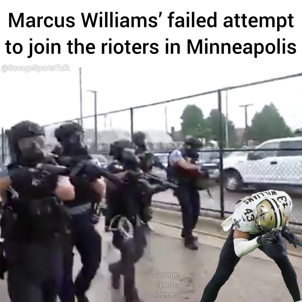 This dude can't succeed at anything in Minnesota. . .   #NFL #NFLmeme #NFLmemes #football #footballmeme #footballmemes #meme #memes #sports #sportsmeme #sportsmemes #minneapolis #minnesota #riots #vikings #minnesotavikings #skol #saints #neworleans #neworleanssaints #whodatpic.twitter.com/n5hTI3BWBR