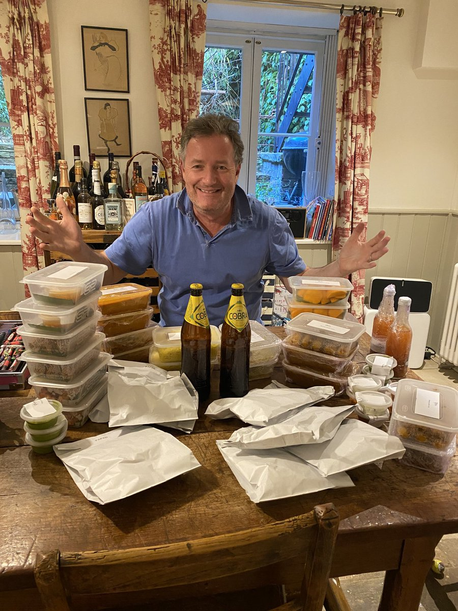 Having a #BigCurryNightIn courtesy @BBSW7. Support your favourite restaurants & order a takeaway this weekend to help local communities & families whose businesses have been severely impacted by Covid-19 @britishasiantst @UKBigCurryNight #SupportLocal ⁦⁩ 👍 https://t.co/5LYjTond9c