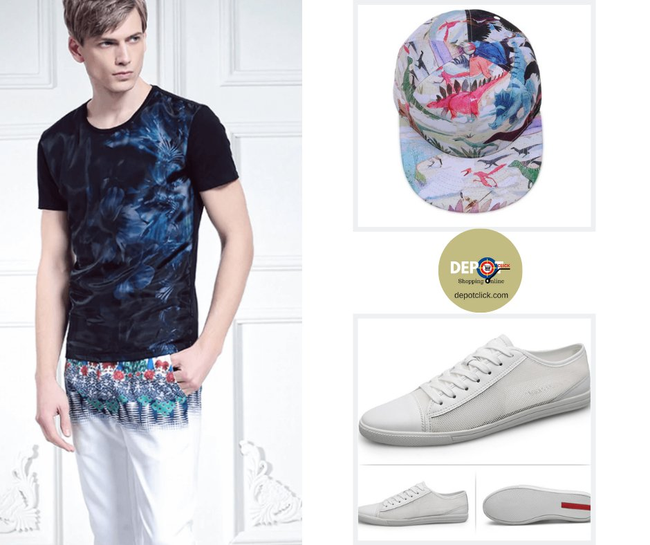 #fashiontips Get a different outfit with trendy two-tone pants, add sneakers and bracelet with natural stones or a cap as accessories.  https://bit.ly/2zxTSuU   #depotclick #tshirtdepotclick #tshirt #tshirtdesign #tshirtshop #mens #menswear #mensfashion #ootd #shoppingonlinepic.twitter.com/IkUCsyQgQc