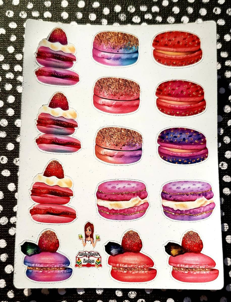 New @SandyPlannerBoutique Excited to share the latest addition to my #etsy shop: Macaroon Sticker Planner Sticker Planner Girl Sticker  #cutegirlsticker #plannergirl #planneraccessories #plannergirlsticker #ephermera #decorative #tnaccessories
