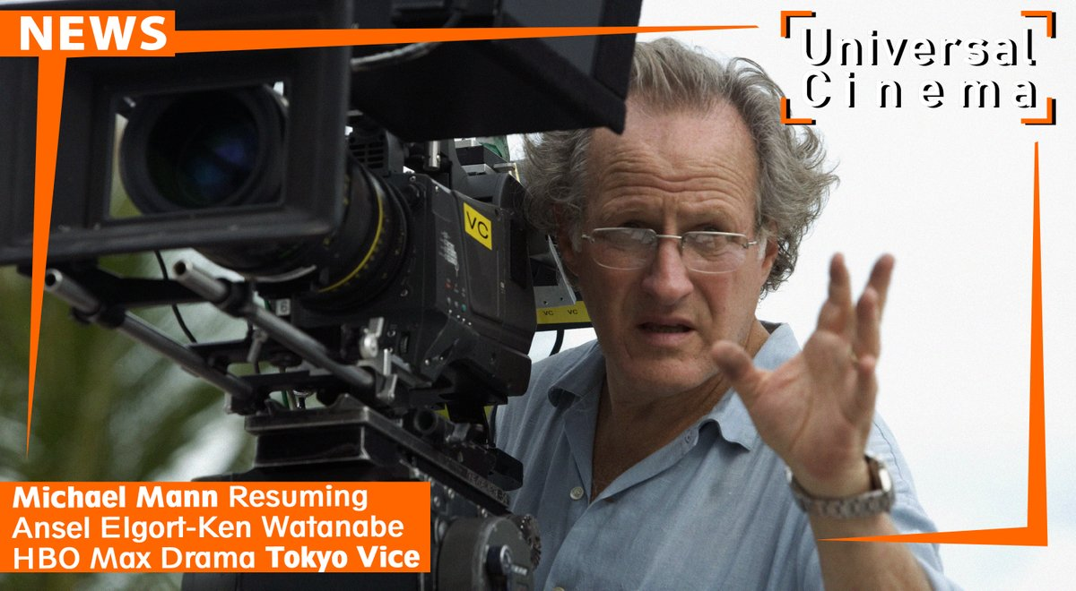 #MichaelMann is renowned for series that include #MiamiVice and Crime Story, and he's shaping the tone by directing the pilot of a new #HBOMax  series #TokyoVice, a crime drama that stars #AnselElgort as a Western journalist covering the crime beat in Tokyo.<br>http://pic.twitter.com/Nex95QJP92