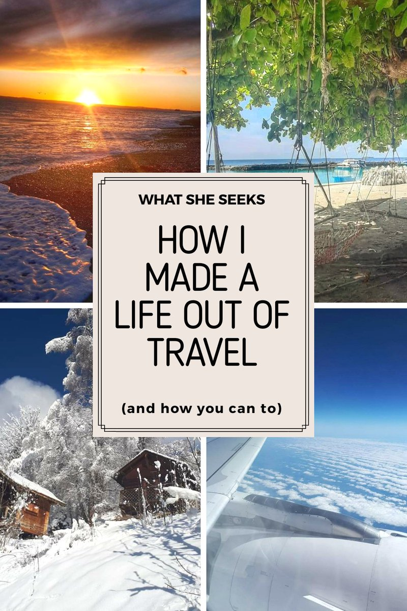 A question I get asked often. How do I get to travel so much? #wanderlust #travellife #newtravelblog https://t.co/FKPnu2artD https://t.co/aZwno2XclQ