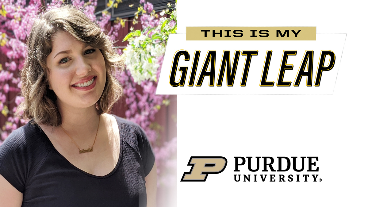 #TheNextGiantLeap for 2020 senior Elizabeth Thayer is a Ph.D. in molecular and cellular biology @Illinois_Alma. Congrats! #PurdueWeDidIt #LifeatPurdue #PurdueUniversity