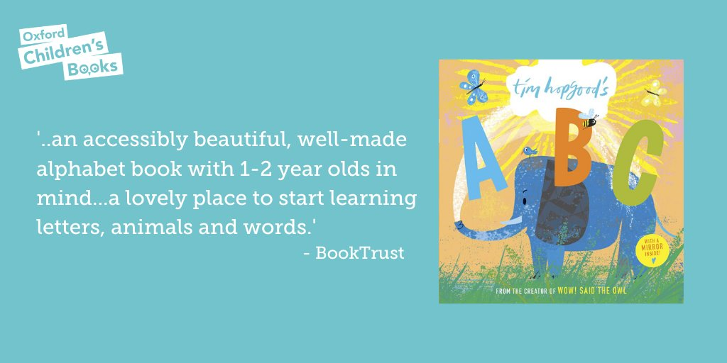 Thanks for this lovely review of @TimHopgood 's ABC @Booktrust! Read more: booktrust.org.uk/book/t/tim-hop…