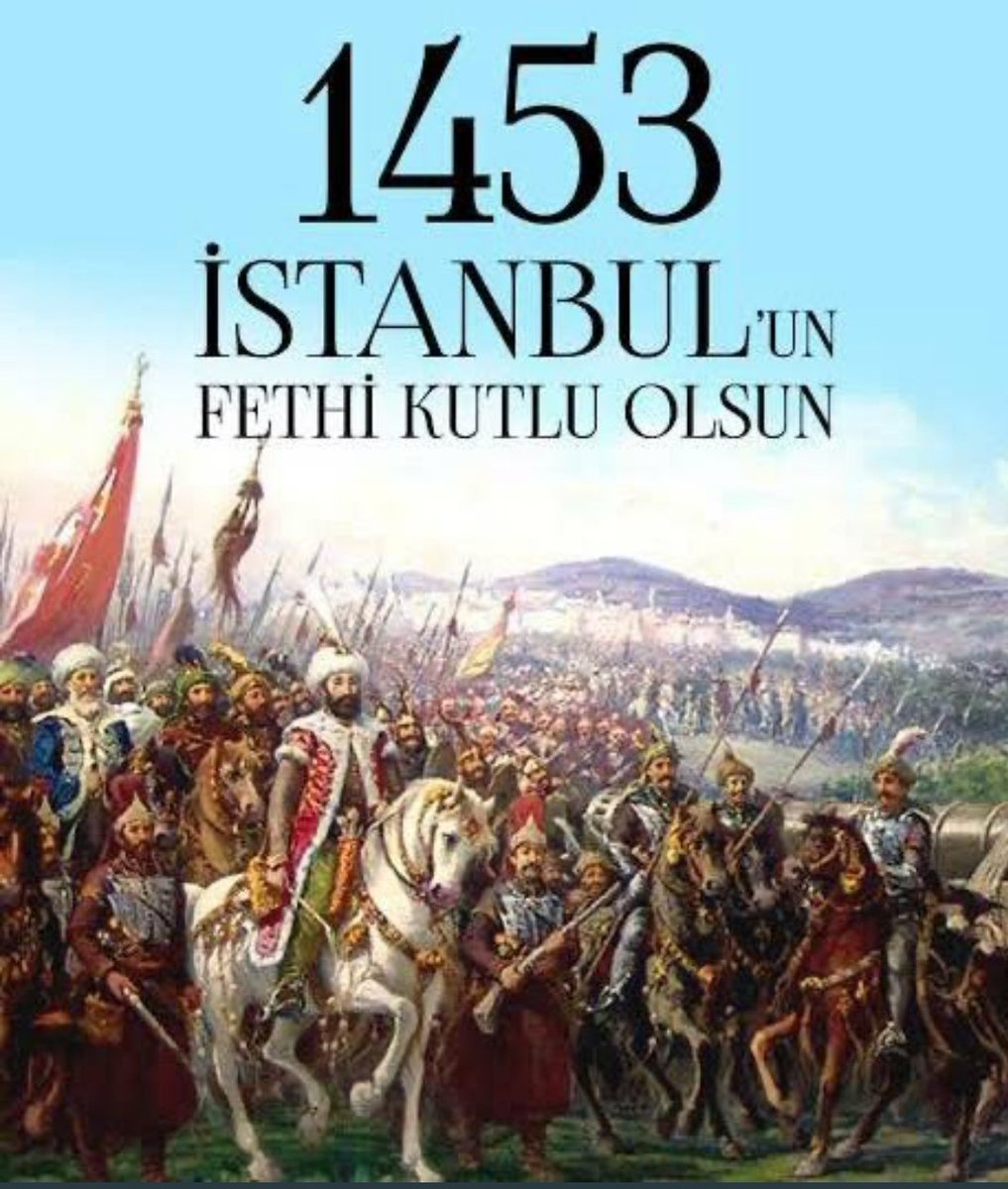 """👉""""İstanbul mutlaka fethedilecektir. Onu fetheden komutan ne güzel komutan,o ordu ne güzel ordudur.""""👈 #istanbulFethi @ziyaselcuk @zeynepglylmaz1 @AdemKoca46 @memleventyazici @mktrky @BaykalBasdemir @OzilLevent @harungergin @izekier53 @ahmetozdemirmem @kaya_menderes @msirinesen https://t.co/T3PaPukFFK"""