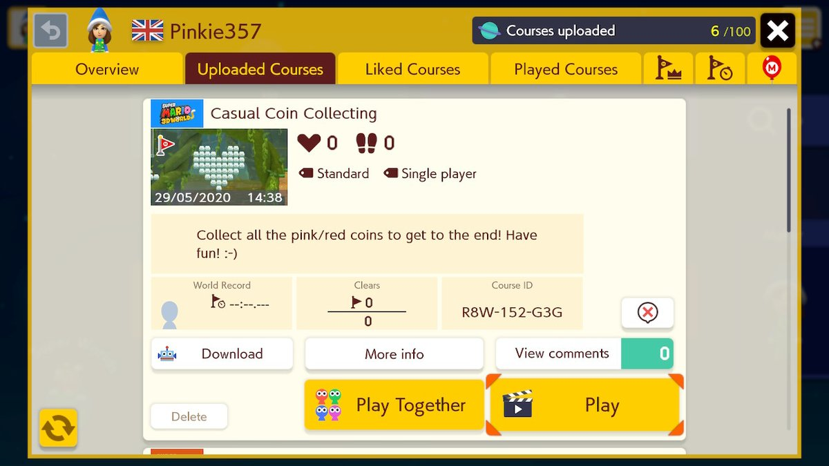 New casual level! :-) #SMM2 #SuperMarioMaker2 #NintendoSwitch