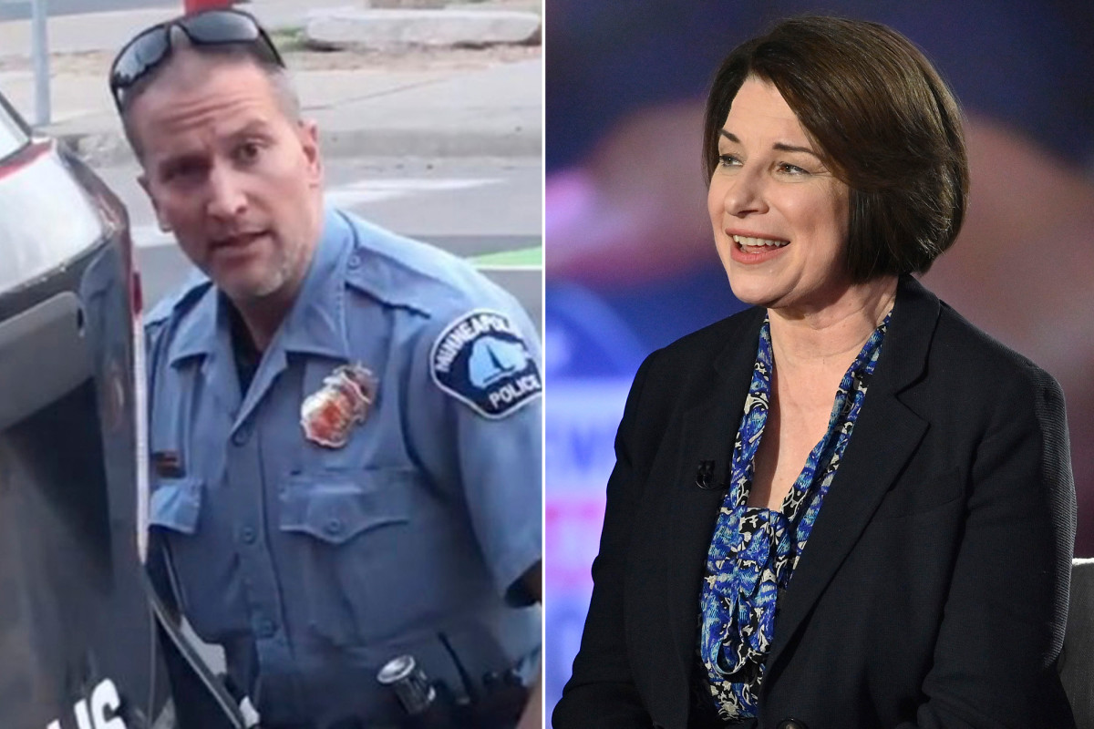 Amy Klobuchar once declined to prosecute Derek Chauvin, cop in Floyd death