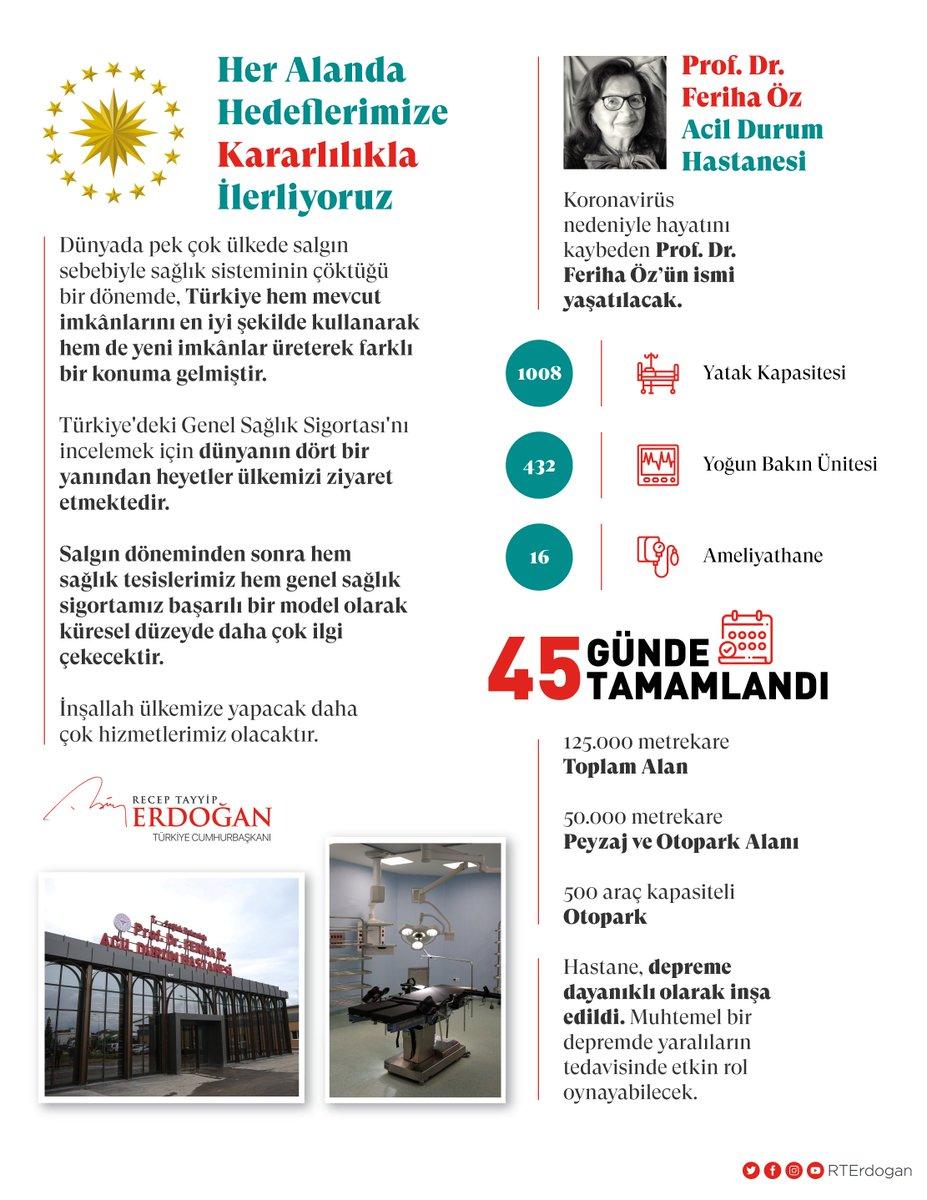 Türkiye hem mevcut imkânlarını en iyi şekilde kullanarak hem de yeni imkânlar üreterek sağlık alanında farklı bir konuma gelmiştir. Ülkemiz her alanda hedeflerine doğru kararlılıkla ilerlemektedir.