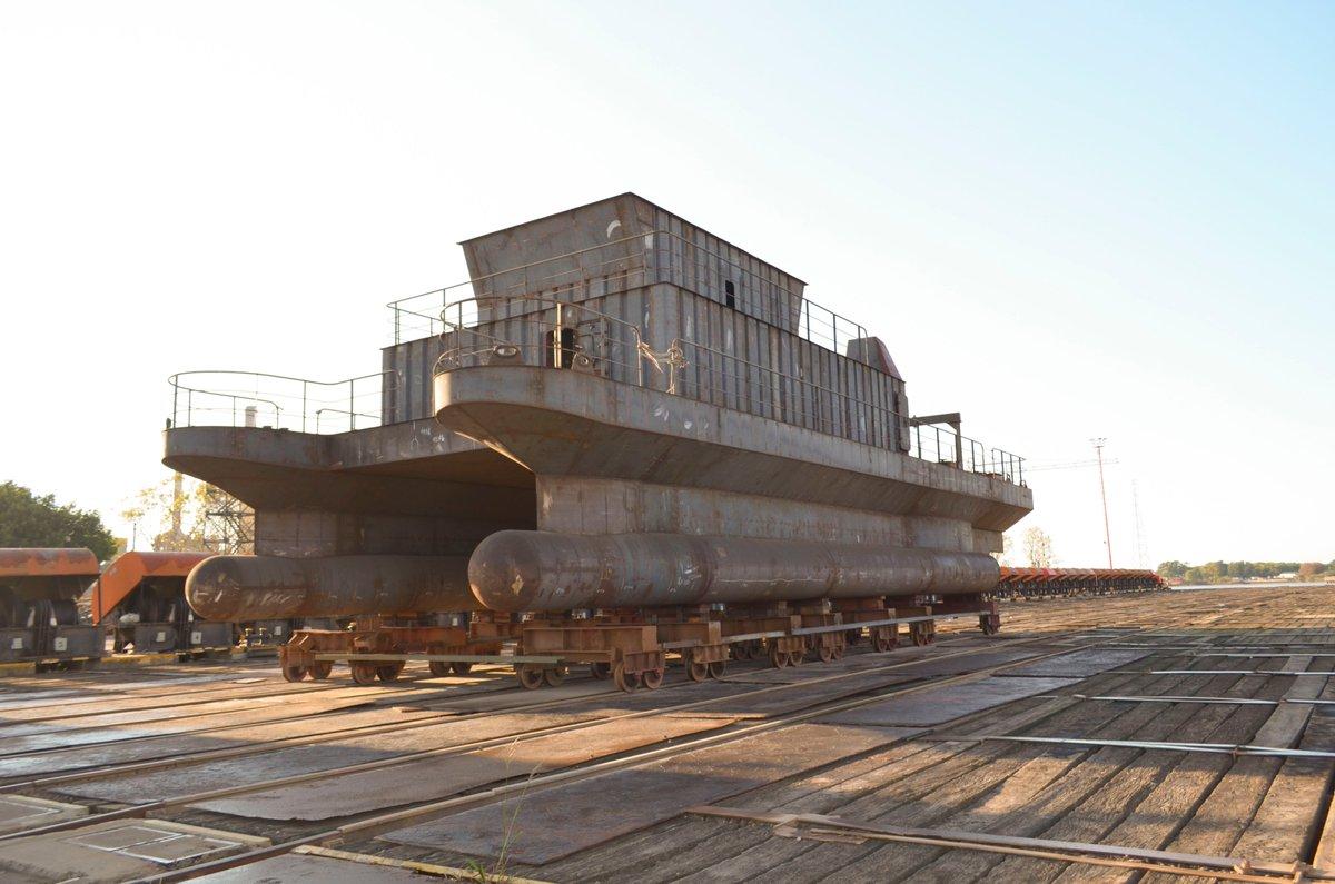 Avanza la construcción del nuevo buque del Servicio de Hidrografía Naval