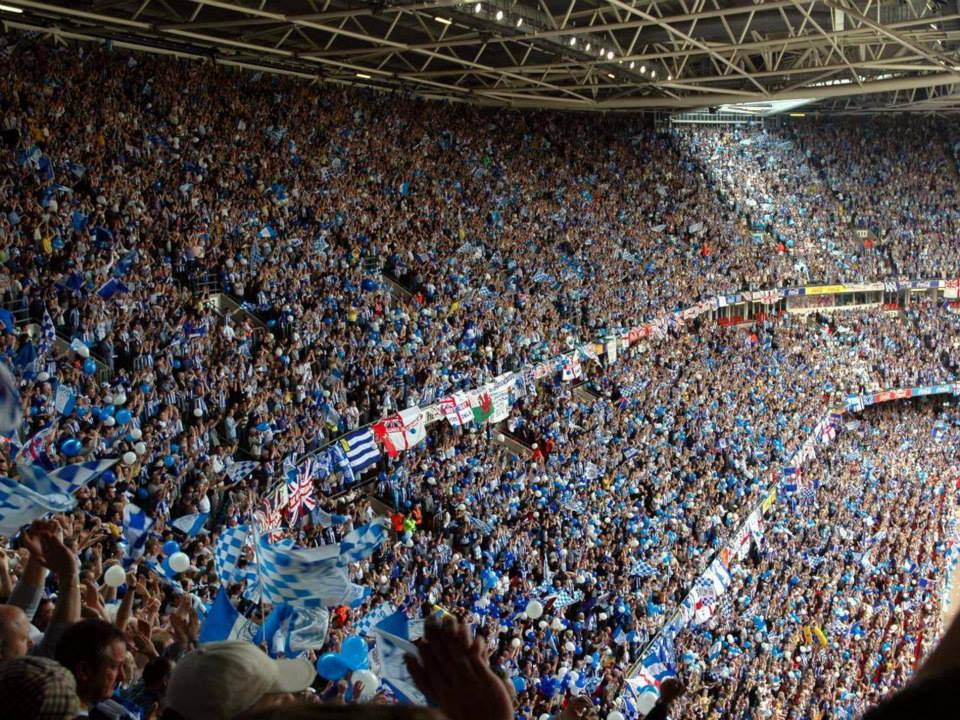 ON THIS DAY 2005: Sheffield Wednesday at the Millennium Stadium for the Play Off Final #SWFC
