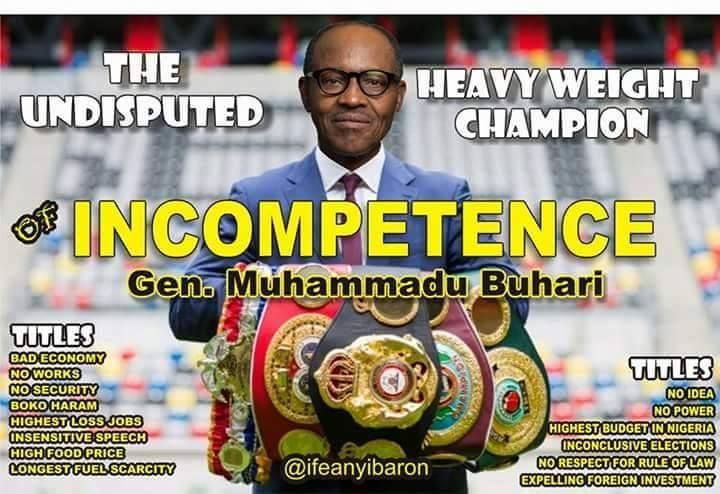 His name is Buhari in 2015  His name is Sinzu in 2020  Stand up for the Champion of Change and NextLevel  #DemocracyDay <br>http://pic.twitter.com/4cCYRYN7sX