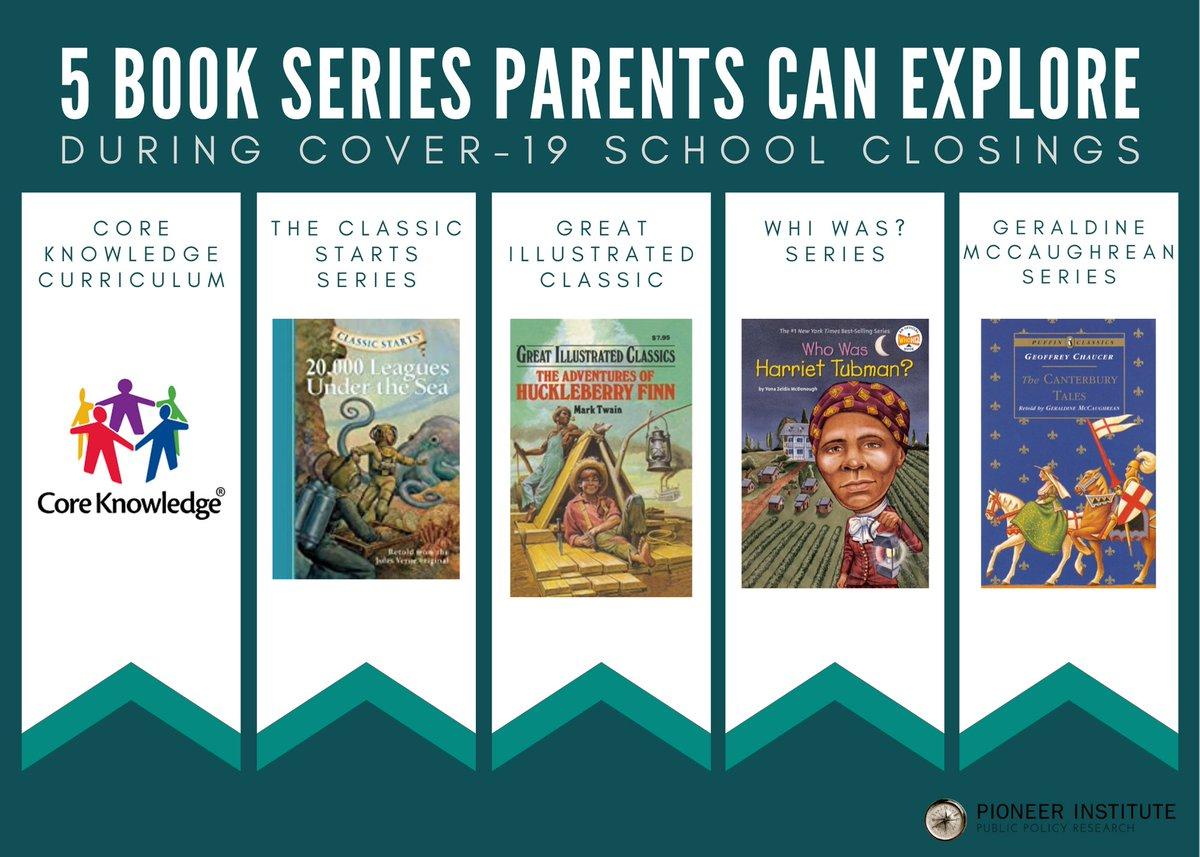 This time at home gives us the opportunity to explore new methods of learning. Pioneer has created a list of 5 useful book series parents and their children should explore to supplement at-home schooling! Learn more here: https://t.co/m8NchJ4bTa #COVID19 #MAedu #schoolchoice https://t.co/hszIv2HEYL