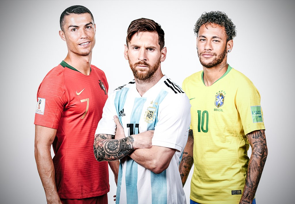 The worlds highest-paid athletes in 2020, according to @forbes 1. Roger Federer 2. Cristiano Ronaldo 3. Lionel Messi 4. Neymar 5. LeBron James 🤑