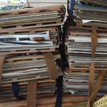 This is what the end of an active day in the field looks like!  Stacks upon stack of full #herbarium presses! In addition to collecting samples of #peppertree for our latest work, we also collected >100 medicinal species .  Read the story #behindthepaper: https://t.co/CSBGhvqemO
