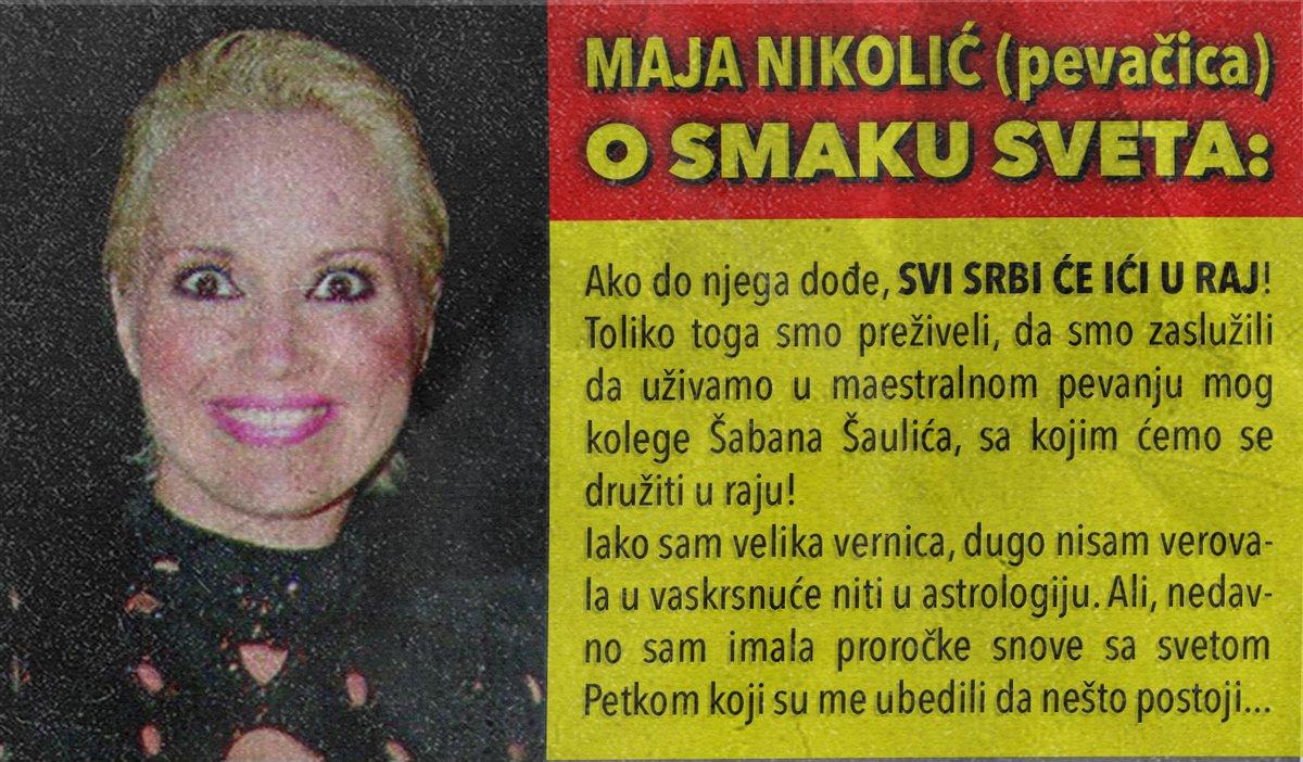 Maja Nikolić: Svi Srbi će ići u raj