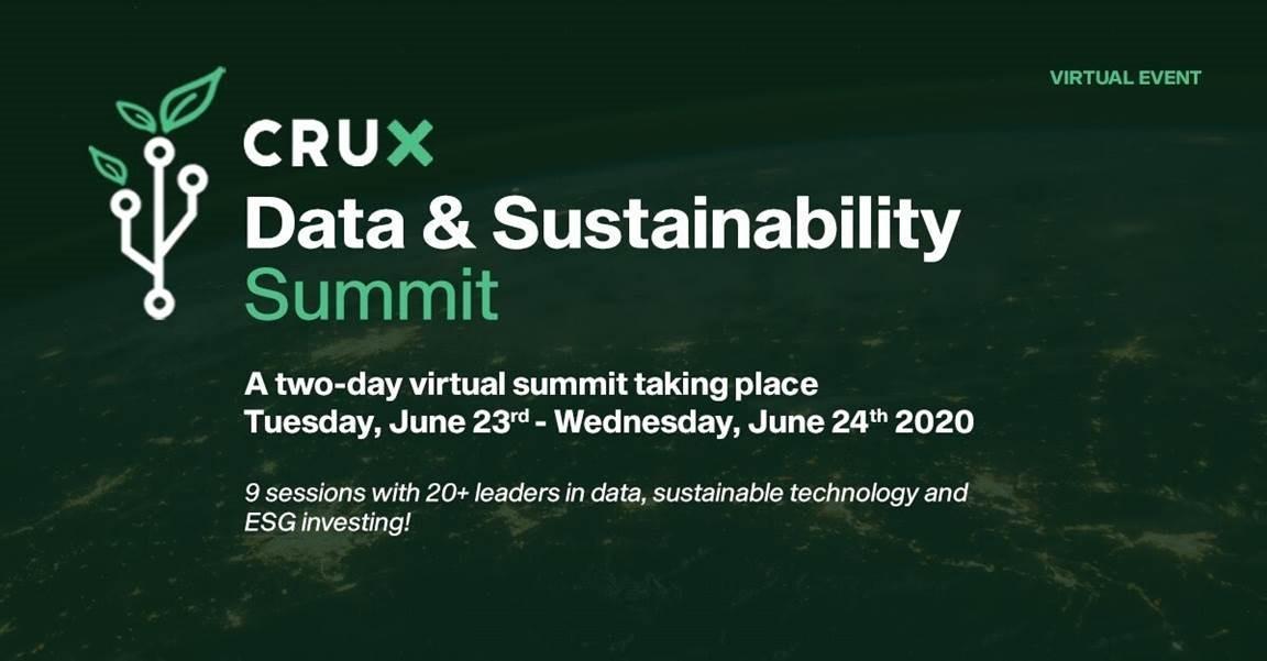 Crux Data & Sustainability Summit