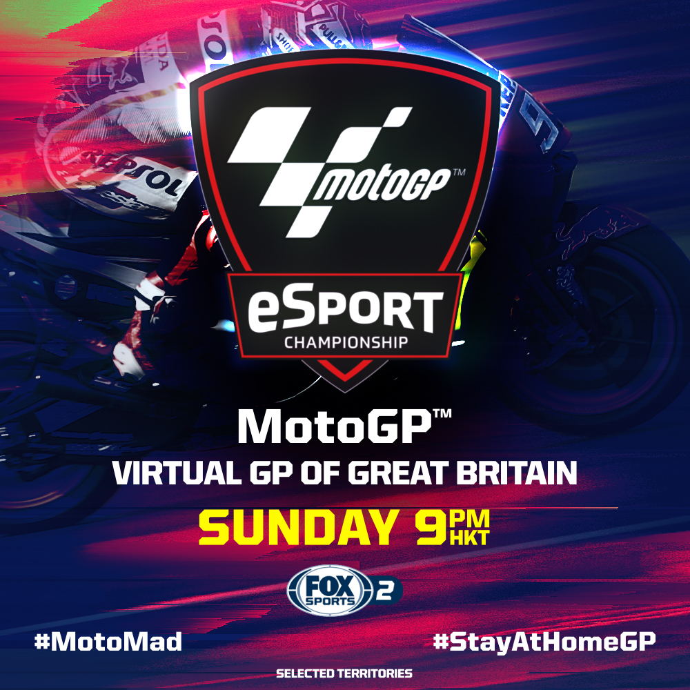 MotoGP  Moto2  Moto3  Get ready for the @MotoGP Virtual Grand Prix of Britain today because the competition is gonna be fierce!   #MotoGP #MotoMad #StayAtHomeGP #VirtualBritishGPpic.twitter.com/XWbiBI3T1S