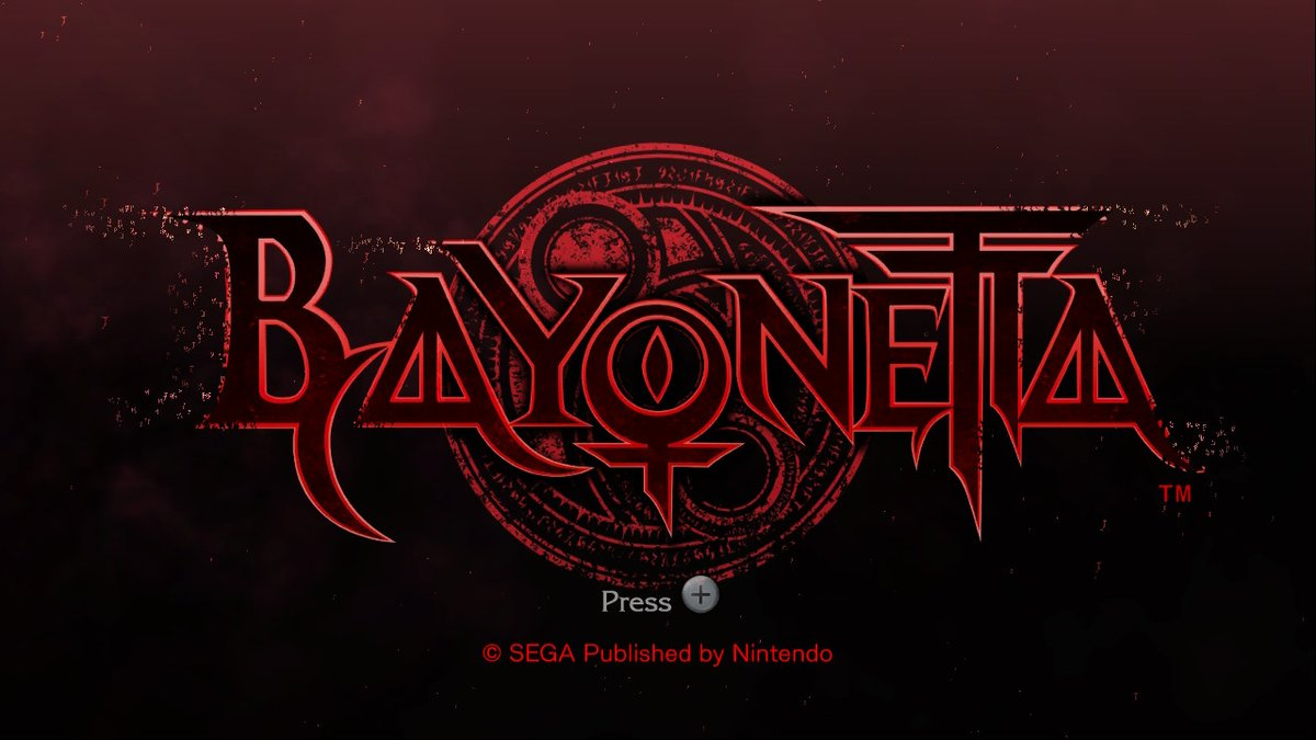 Time to begin my very first 18-rated game, #Bayonetta!!  Once I've finished this game, I'll then start #Bayonetta2!  #NintendoSwitch