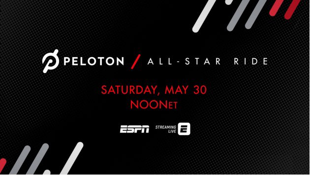 👀👀👀 @onepeloton race anyone?!!  Watch us work during this race!  Let's go ladies!!!  @espn tomorrow at noon! https://t.co/iU0dd6wF04