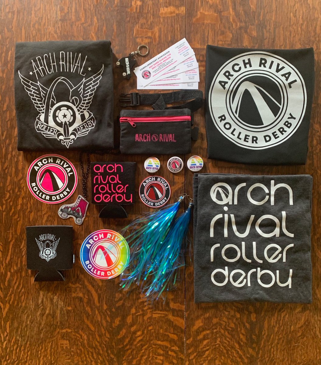 Each basket contains different ARCH related items and beautiful prints from @rdunnell. Details of the 3 baskets can be found on the website https://t.co/t1WKwSDCkc #stl #charity #archrival #derbytwitter #tentmission https://t.co/3pJcYo6j32