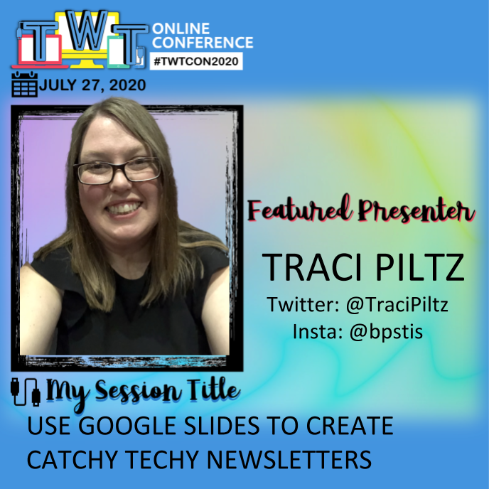 So excited to present at @TWTConference again this year! 🙌 Ill be sharing how I use Google Slides to create my weekly tech-y newsletters📰. Check out 🤩the amazing line-up of presenters ⬇️. Registration is now open teachwithtechconference.com. #BPSLearns #MTEdchat #1stChat 🏖️😎☀️