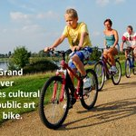 Take on the Grand Tour to discover Milton Keynes cultural venues and public art on foot or by bike https://t.co/Y1rVOk3B09 🚴♀️ 🚴♂️