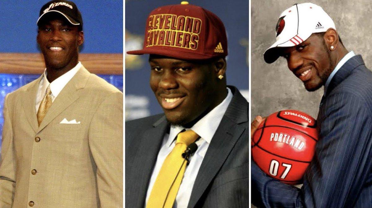 Quien es el peor pick #1 de la historia de la #NBA ?  ▪️ Kwame Brown (2001)  607 PJ: 6.6 PTS / 5.5 REB  #2 pick: Tyson Chandler  ▪️ Anthony Bennett (2013)  151 PJ: 4.4 PTS / 3.1 REB  #2 pick: Victor Oladipo  ▪️Greg Oden (2007)  105 PJ: 8.0 PTS / 6.2 REB  #2 pick: Kevin Durant https://t.co/2UNxnDxZo7