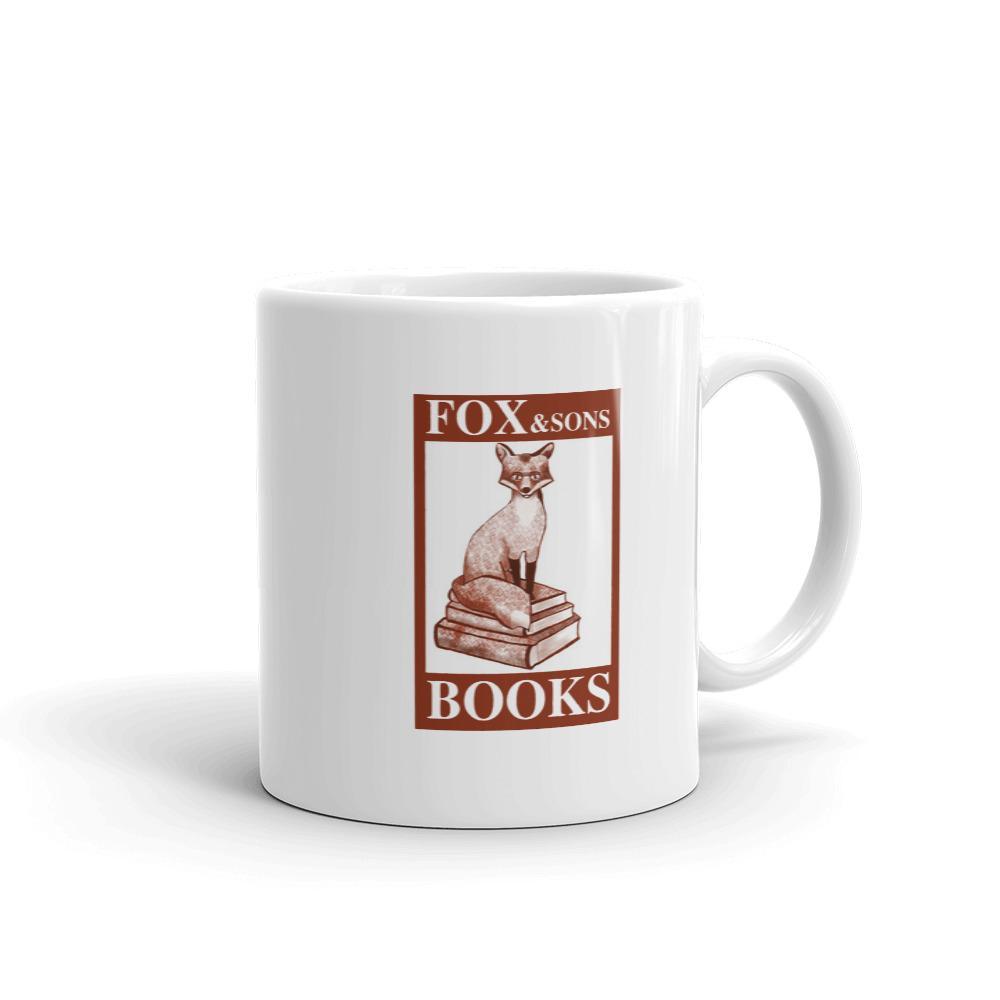 Fox And Sons Books mug   #youvegotmail #tomhanks #noraephron #love #sleeplessinseattle #stationerylove #megryan #kawaiistationery #cinema #movie #replica #replicaprop #replicaprops #cultmovie #film #films #video #actor #actress #instamovies #moviestar #hollywoodpic.twitter.com/kcsNMOBo5S