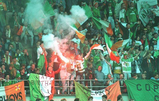 ON THIS DAY 1994: Republic Of Ireland in Hannover for their 2-0 against Germany #COYBIG