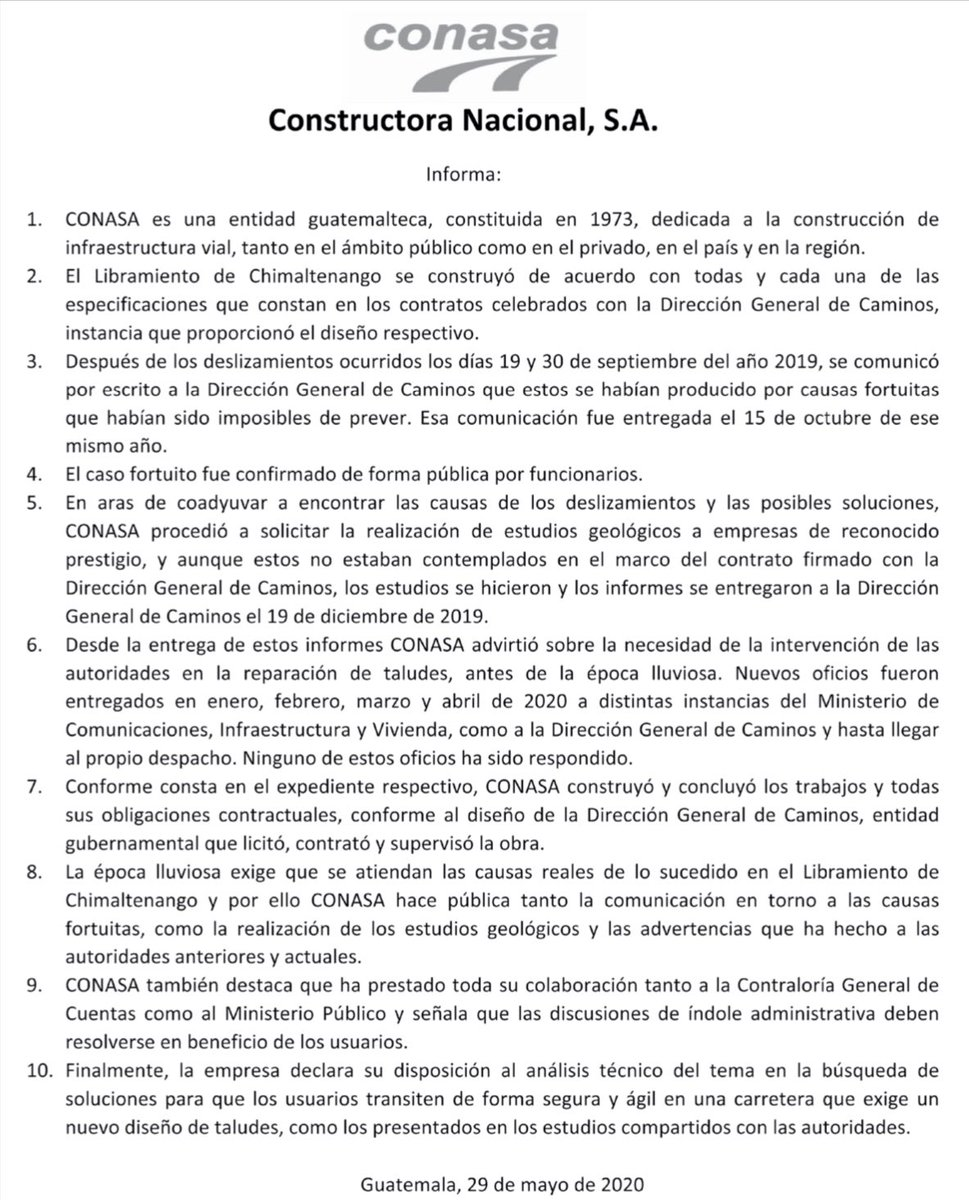 test Twitter Media - Conasa emite comunicado por el libramiento de chimaltenango: https://t.co/wPuHDxv00P