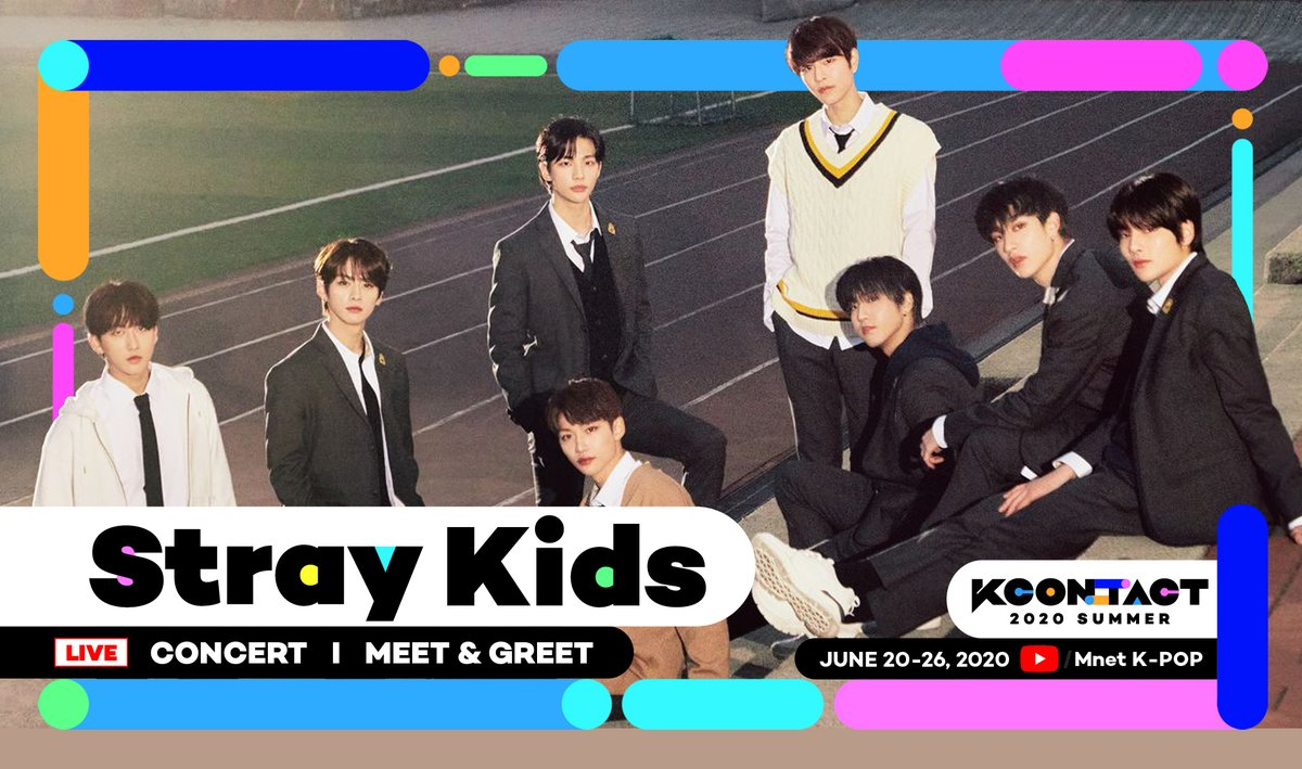 [KCON:TACT 2020 SUMMER] 2ND LINEUP   STAYS, DID YOU GUESS IT? @Stray_Kids is coming to #KCONTACT !   ▶KCON REPLAY LIVE ON: https://t.co/gbGDR6OzZk #STRAYKIDS #KCON #KCON247 #KCON2020 #MnetKpopYouTube https://t.co/8lIyLZdTSo