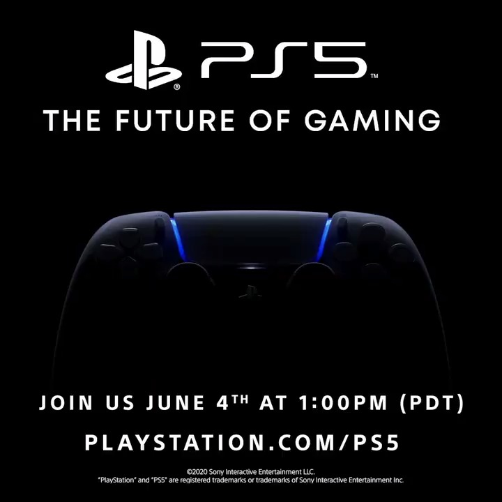 Join us Thursday, June 4 at 1:00pm Pacific time for a look at the future of gaming on PlayStation 5: play.st/2ZLkT8J #PS5