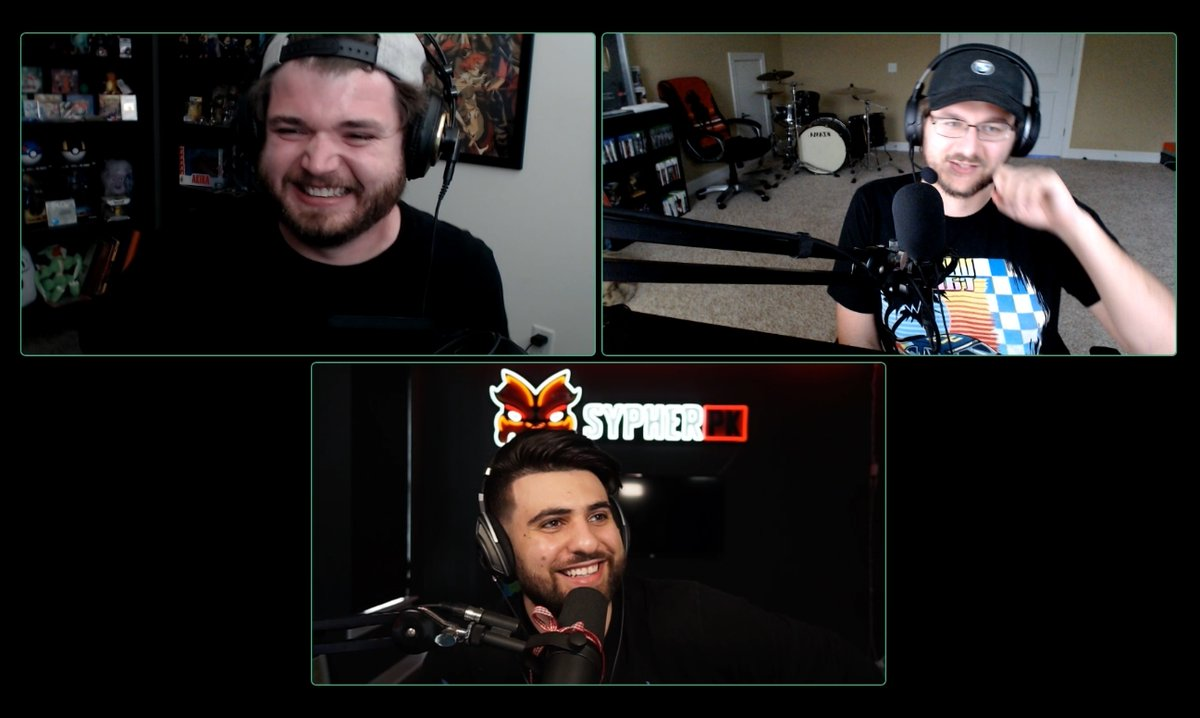 The WILDCAST Ep. 5 will be out this Sunday!  Featuring the one and only @SypherPK   (Episodes 1-4) https://t.co/vNzb05IbFy https://t.co/DKWjR1bSRp