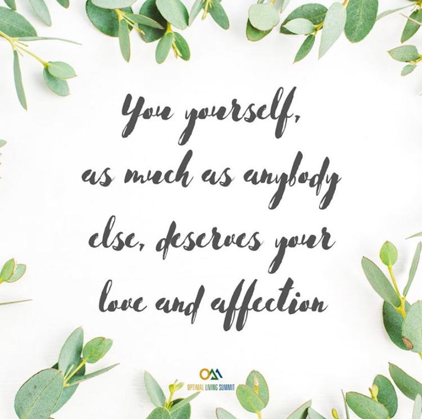 Be kind to yourself first. #loveyourself #wellness