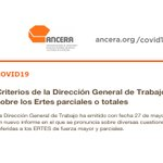 Image for the Tweet beginning: La Dirección General de Trabajo